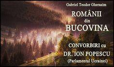 """Apariție editorială, o """"audiocarte"""": """"Românii din Bucovina"""" - » Glasul Românilor de Pretutindeni Editorial, Critic, Romania, Movies, Movie Posters, Deporte, Films, Film Poster, Cinema"""