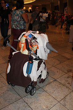 The littlest Last Airbender ringing in a Abu stroller -  If this is your kid, let me know and I will send you the full size files.