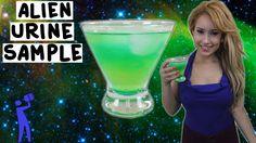 How to make an Alien Urine Sample - Tipsy Bartender