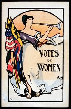 The women who came before us fought long and hard to win our right to vote--make sure you're registered (the deadline for some states is TODAY) so you can raise your voice by voting in the midterms! #vintage #poster