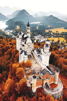 One week from today and we will be leaving Amsterdam to head to Munich! Can't wait to visit this castle!!
