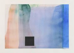 Daniel Brice Untitled 1118, 2015. Watercolor, pastel and charcoal on paper: