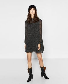 POLKA DOT PRINT DRESS-View All-DRESSES-WOMAN | ZARA United States