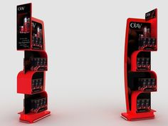 Point of Purchase Design Kiosk Design, Retail Design, Store Design, Cosmetics Display Stand, Cosmetic Display, Pos Display, Display Design, Product Display, Point Of Sale