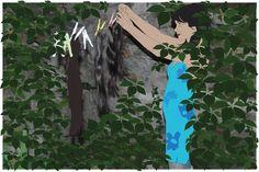 Olmazsa Olmaz sergisi: Murat Tosyalı - Bir Kadının Günlüğünden, Fotograf üzerine karışık teknik, 80x120cm, 2012