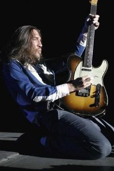 John Frusciante (Red Hot Chili Peppers)...The Stance Alone Speaks Volumes...Play On, Sir...Loads of Talent Here!!