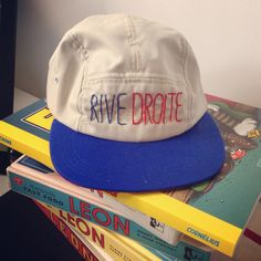 Rive droite - 5 panel cap by cheekyboom 5 Panel Cap, Hats, Hat, Hipster Hat