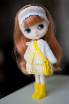 Tatin in lovely dress by MforMonkey, via Flickr.