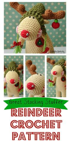 This little guy is adorable! Great gift idea! #crochet #ad #christmas