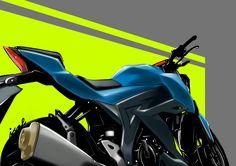Suzuki GSX-S150 sketch