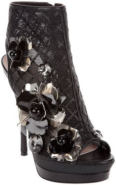 Versace boots - perfect for me to wear at a show!!