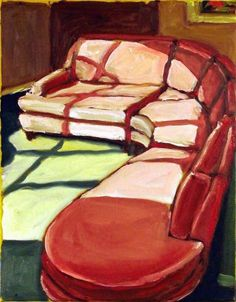 Sunlight on a Pink Sofa by Kenneth Eugene Peters
