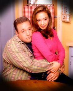 Kevin James & Leah Remini - The King of Queens - It's hard for me to get to sleep unless this show is on.