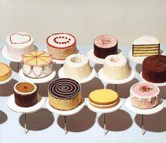 Wayne Thiebaud - Cakes [1963]