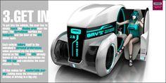 ロサンゼルスオートショー主催、超未来志向のコンセプトカー・デザインコンテスト「デザイン・チャレンジ 2013」出品作品一覧 - DNA