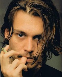 "Johnny Depp <3   ""There was a boy, a very strange, enchanted boy...."""