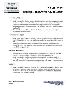 Resume Builder  How To Write A Qualifications Summary Examples