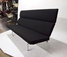 Four Compact Sofau0027s By Eames For Herman Miller Original Design 195l American