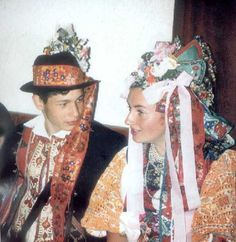 Folk Costume, Costumes, Folk Clothing, Captain Hat, Character Design, Culture, Embroidery, Hats, Clothes
