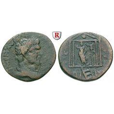 Römische Provinzialprägungen, Phönizien, Berytus, Caracalla, Bronze, f.ss/ss: Phönizien, Berytus. Bronze 25 mm. Kopf r. mit… #coins