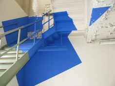 The meticulous anamorphic art of Georges Rousse.