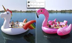 Pool floats: New Instagram favourites fit SIX but they cost £106 | Daily Mail Online