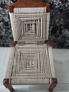 // gujarat rope chair