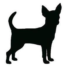 chihuahua stencil pattern - Google Search