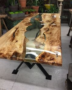 47 Amazing Home Furniture Ideas With Incredible Resin Wood Table Diy Wood Projects amazing Furniture Home ideas Incredible Resin Table Wood Epoxy Wood Table, Wooden Tables, Rustic Wood Tables, Outdoor Wood Table, Wooden Desk, Resin Furniture, Home Furniture, Furniture Ideas, Antique Furniture