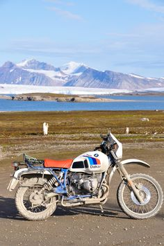 Ny Alesund, Svalbard (N) - 78° 55' N. Only a BMW can live there!