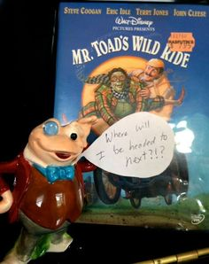 "Want to be part of Mousetalgia Kristen's ""Mr. Toad's Wild Video Marathon""? Send an email to Kristen@mousetalgia.com to get on the list!  Also check our Facebook page for more information."