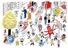Book de Noémie Weber via http://mimilasouris.ultra-book.com/portfolio