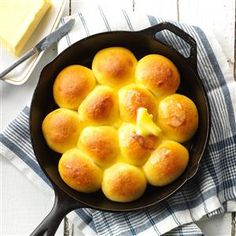Butternut Squash Rolls Recipe from Taste of Home