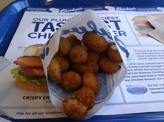 Culvers- Fried Cheese Curds!