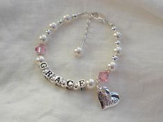 Big Sister Bracelet-Im going to be a big sister-Personalized Sister Bracelet-Big Sister Gift on Etsy, $34.00