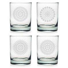 Morocco Rocks Glass (Set of 4)