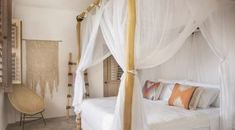 Mosquito Net | Queen Size | Box Shape | Queen Bed net and Canopy Interior Design Courses Online, Interior Design Tips, Design Blogs, Interior Ideas, Exotic Homes, Boutique Homes, Common Area, Queen Beds, Colorful Interiors