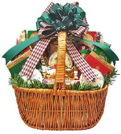 Meat & Cheese Gourmet Food Christmas Holiday Gift Basket - MEDIUM - http://mygourmetgifts.com/meat-cheese-gourmet-food-christmas-holiday-gift-basket-medium/