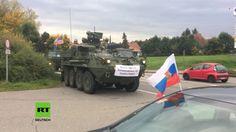 Operation Ostfront: Massives US-Militärgerät rollt durch sächsische Klei...