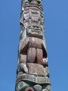 Totem Pole Granville Island | Flickr - Photo Sharing!