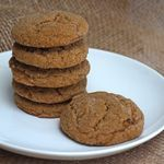 Soft Ginger Cookies #fillthecookiejar | From Calculu∫ to Cupcake∫