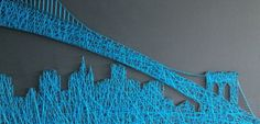 28 DIY Thread And Nails String Artwork Projects That Will Superbly Reshape Your Interior Decor