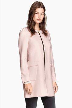 Manteau en tissu structuré | H&M