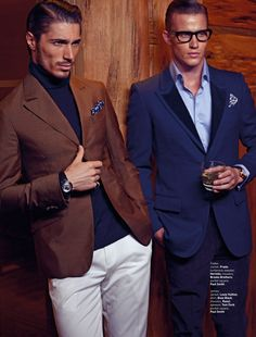 Traiko Mladenov & James Elliott by Ivanho Harlim & Shysilo Novita for August Man Singapore