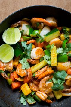 Pad Priew Wan Goong (Thai Sweet and Sour Stir-Fry with Shrimp) | The Domestic…