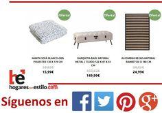 Estas son las #ofertas que puedes encontrar hoy en hogaresconestilo.com!!!