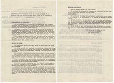 Informe de lo actuado en el edificio que fue Ministerio rojo (5 de julio 1939). Fondo Antonio de la Torre. http://bvirtual.bibliotecas.csic.es/csic:csicalepharc000105699
