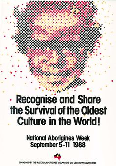 NAIDOC Week poster gallery and history. Gorgeous posters, like this poster from 'Recognise and Share the Survival of the Oldest Culture in the World! Aboriginal Education, Aboriginal People, Advance Australia Fair, Naidoc Week, Illustration Girl, Girl Illustrations, Self Determination, Australian Curriculum, Cultural Diversity