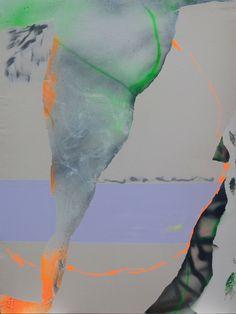 Tira Walsh, Manic, mixed media on canvas, x ©, 2016 Mixed Media Canvas, Pets, Animals, Beaches, Animales, Animaux, New Media Art, Animal, Animais