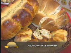 Pão sovado de padaria - YouTube